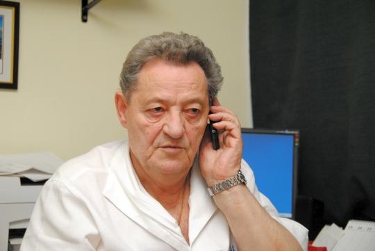 Valóban elfoglalt, az interjú közben is csöngött a telefonja (Fotók: Melega Krisztián)