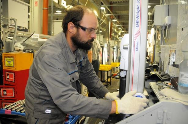 A megnövekedett megrendelések miatt újabb gépeket is beszereznek majd (Fotó: Melega Krisztián)