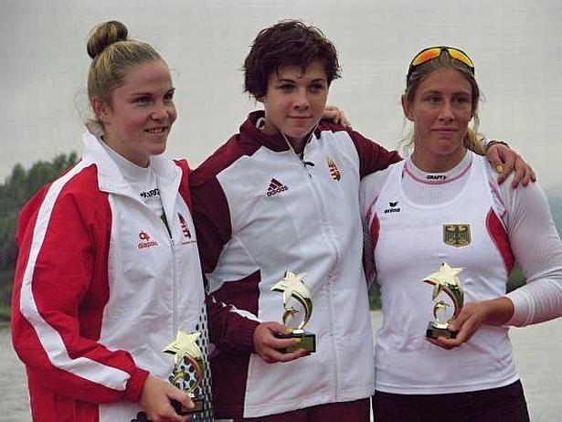 Homonnai Luca (k) 1000 méteren is a legjobb lett (Fotó: Facebook)
