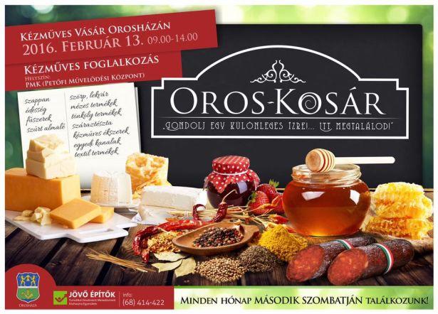 Oros-Kosár kézműves vásár