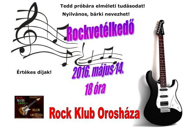 Rockvetélkedő a Rock Klubban