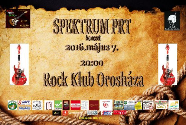 Spektrum PRT koncert a Rock Klubban