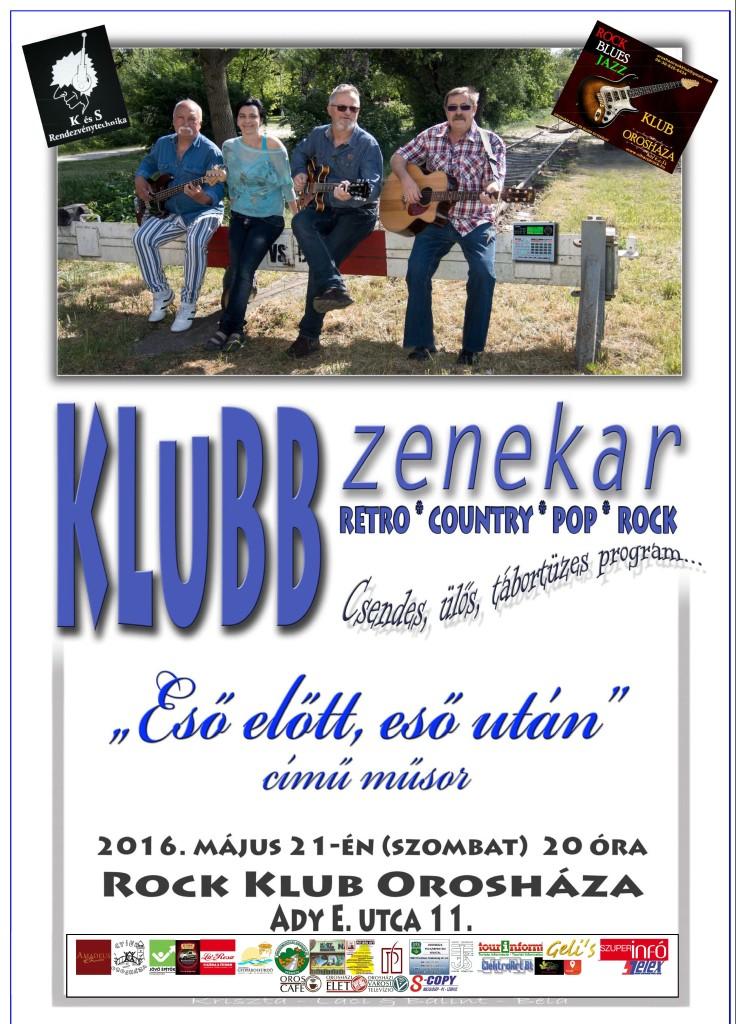 Rock Klub: KLUBB zenekar koncert