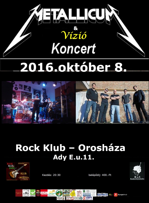 Metallicum és Vízió koncert