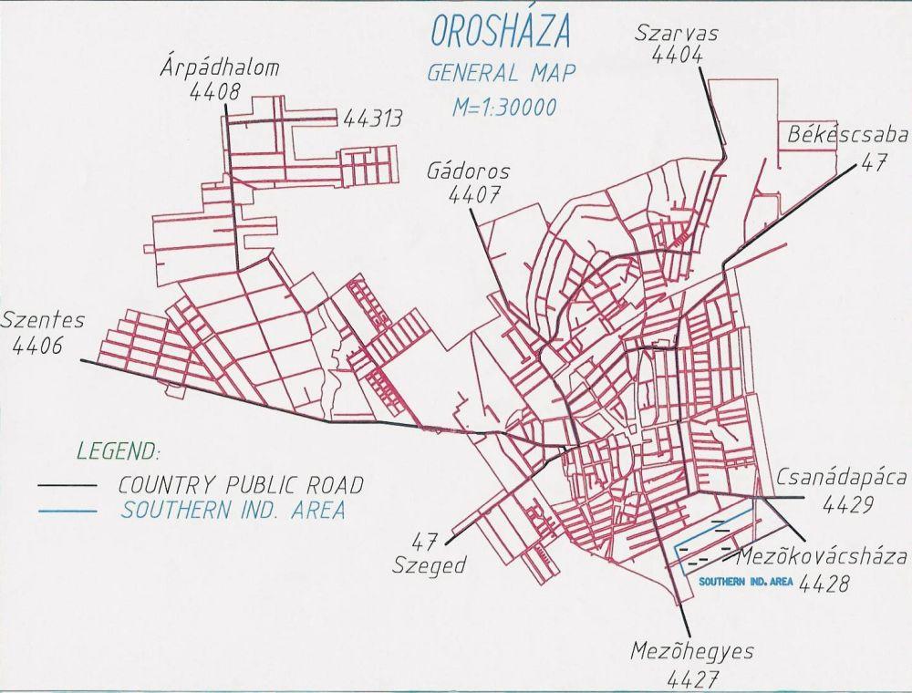 Ipari park –Southern Industrial Area