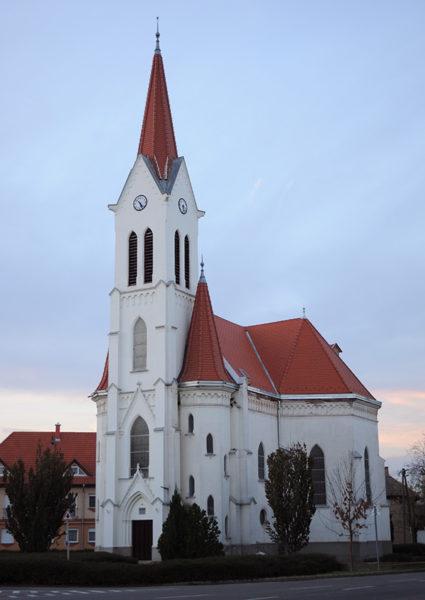 Református templom, 2013. november (fotó: Kecskeméti Krisztina)