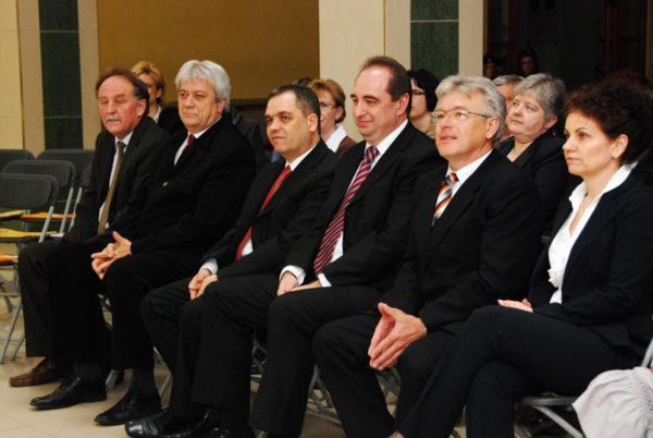 Zombai küldöttség Orosházán, 2012. április (fotó: Kecskeméti Krisztina)